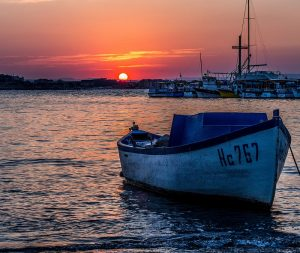 nesebur-burgas-boat-at-sunset-by-sergey-galyonkin-on-flickr1
